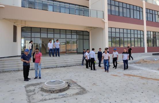 云南工艺美术学校新校区建设项目一标段艺术楼竣工预验收