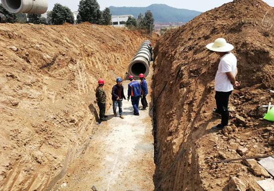 安宁工业园区昆钢二期生产供水管网